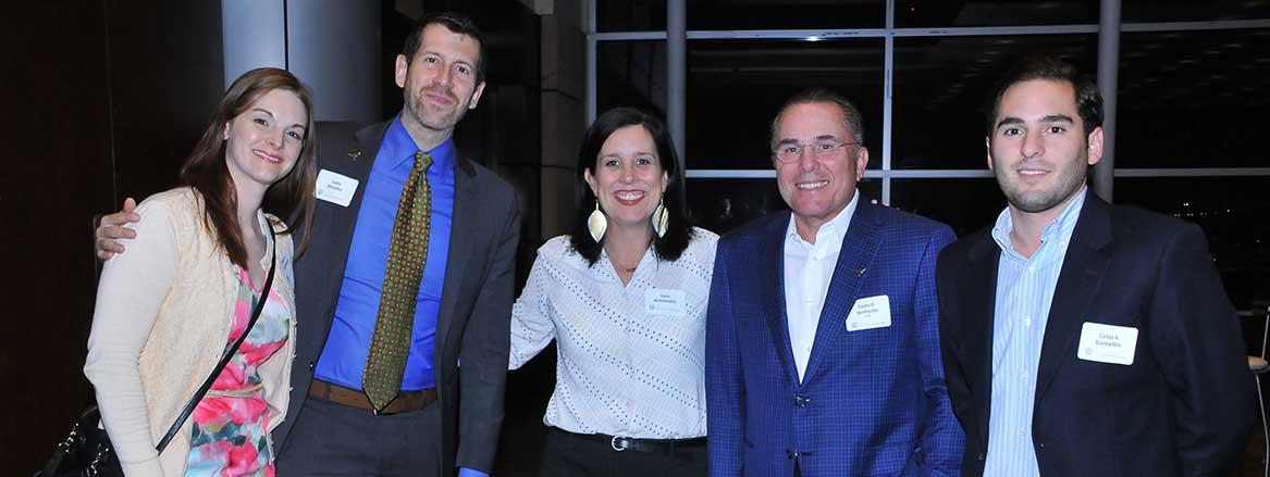 UT staff and Monterrey Alumni