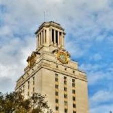UT Tower as headshot placeholder.