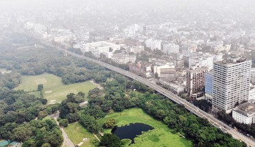 a view of kolkata, india
